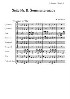 Suite Nr.2: 7 Menuett F-Dur by Bernhard Bauch