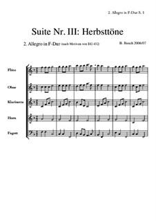 Suite Nr.3: 2 Allegro F-Dur by Bernhard Bauch