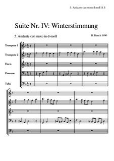 Suite Nr.4: 5 Andante con moto by Bernhard Bauch