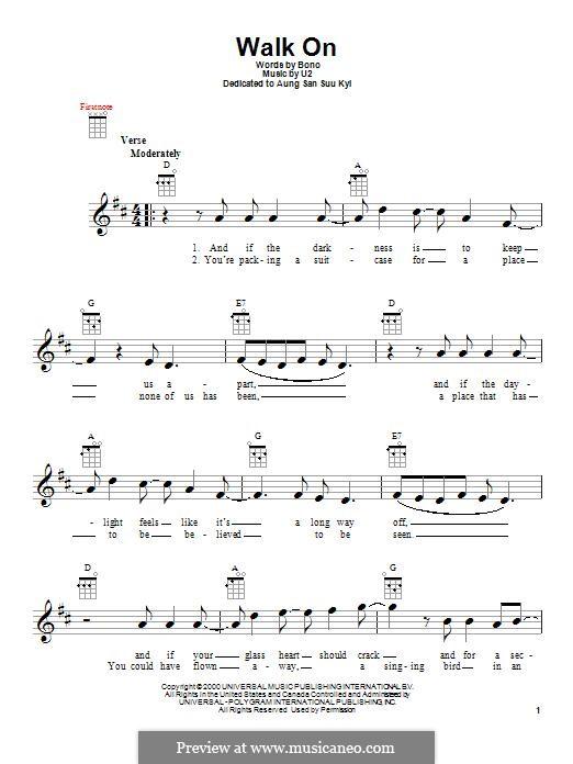 Walk on: For ukulele by U2