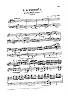 Potpourri on Themes from 'Boris Godunov' by M. Mussorgsky: Potpourri on Themes from 'Boris Godunov' by M. Mussorgsky by Аndrei Ivanovich Evgeniev