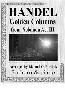 Solomon, HWV 67: Golden Columns by Georg Friedrich Händel