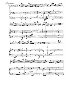 L'école moderne. Eight Etudes for Violin, Op.10: No.5 Alla Saltarella, for violin and piano by Henryk Wieniawski