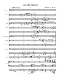 Cantate Domino I: Cantate Domino I by Hristo Tsanov