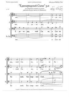 Only Begotten Son (5.0, plain rhythm vers., +Ect., Gm/Hm, 4-5vx, mix.ch.): Only Begotten Son (5.0, plain rhythm vers., +Ect., Gm/Hm, 4-5vx, mix.ch.) by Rada Po