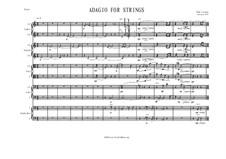 Adagio for Strings: Adagio for Strings by Wim Lasoen