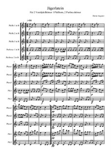 Jägerlatein, Op.122: Jägerlatein by Dieter Angerer