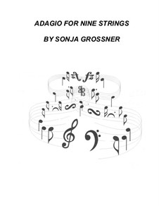 Adagio for strings: Score, parts by Sonja Grossner