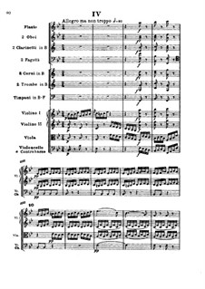 Symphony No.4, Op.60: Movement IV by Ludwig van Beethoven