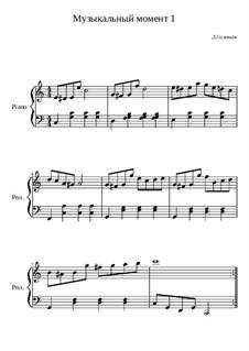 Музыкальный момент No.1, Op.10: Музыкальный момент No.1 by Dmitri Solovyov