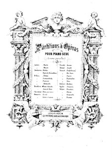 Complete Opera: Piano score by Ludwig van Beethoven