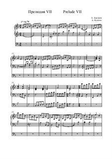 Prelude VII: Prelude VII by Alexander Bystrov