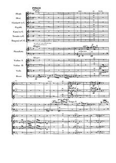 Fantasia in C Minor, Op.80: Finale by Ludwig van Beethoven