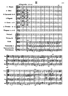 Movement II: Full score by Ludwig van Beethoven