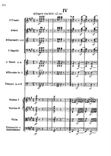 Movement IV: Full score by Ludwig van Beethoven