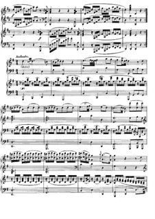 Sonata for Two Pianos Four Hands in D Major, K.448 (375a): Movement II by Wolfgang Amadeus Mozart