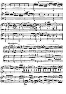 Sonata for Two Pianos Four Hands in D Major, K.448 (375a): Movement III by Wolfgang Amadeus Mozart