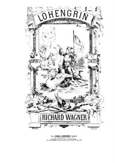 Complete Opera: Piano-vocal score (French text) by Richard Wagner
