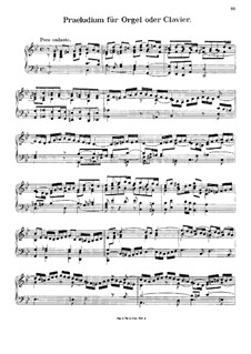 Prelude for Organ or Piano in G Minor: For a single performer by Johann Georg Albrechtsberger