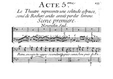 La Reine des Péris: Act V by Jacques Aubert