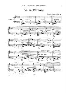 Valse Rêveuse, Op.19: Valse Rêveuse by Ricardo Castro