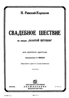 The Golden Cockerel. Opera: Wedding Procession by Nikolai Rimsky-Korsakov