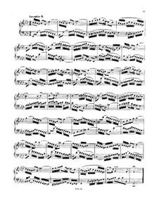 No.9 in F Minor, BWV 780: For harpsichord (or piano) by Johann Sebastian Bach