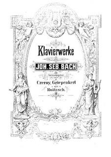Complete set, BWV 772-786: No.1-15 by Johann Sebastian Bach