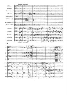 Movement II: Full score by Johannes Brahms