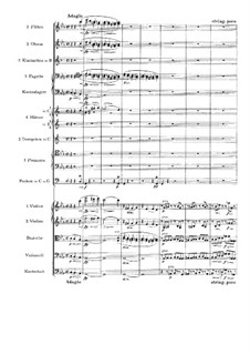 Movement IV: Full score by Johannes Brahms