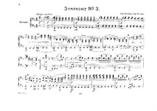 Complete set: Version for piano four hands – parts by Johannes Brahms