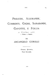 Sonatas No.7-12: Full score by Arcangelo Corelli