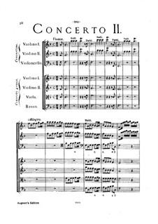 Concerto Grosso No.2: Full score by Arcangelo Corelli