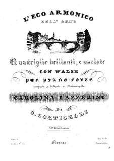 L'Eco Armonico dell'Arno, Op.37: L'Eco Armonico dell'Arno by Gaetano Corticelli