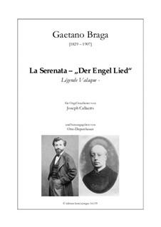 Angel's Serenade (Légende Valaque): For organ by Gaetano Braga