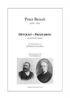 Optocht - Prozession: Optocht - Prozession by Peter (Leonardus) Benoit