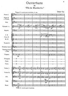 The Mandarin's Son: Overture by César Cui