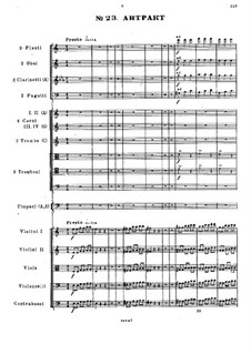 Fragments: Act V. No.23-26 by Mikhail Glinka
