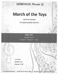 Babes in Toyland: March of the Toys, for wind trio by Victor Herbert