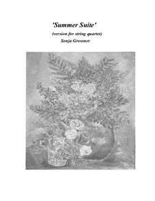 Summer Suite: For string quartet by Sonja Grossner