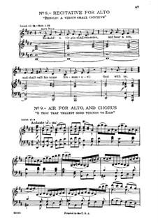 Fragments: No.8-9 by Georg Friedrich Händel
