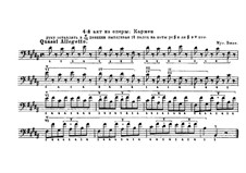 Selected Themes: For double bass by Georges Bizet