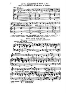 Fragments: No.19-20 by Georg Friedrich Händel
