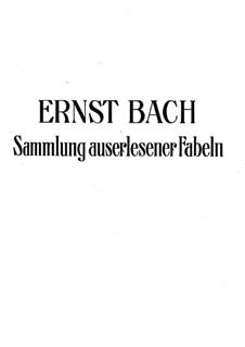 Sammlung auserlesener Fabeln: Sammlung auserlesener Fabeln by Johann Ernst Bach