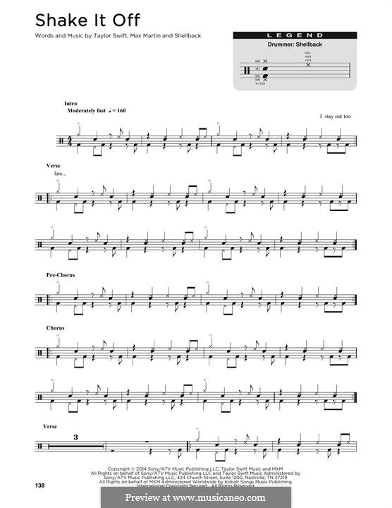Shake It Off Violin Sheet Music Taylor Swift Instrumental Play Along 2nd Edition For: Print Out Sheet Music Violin Solo Taylor Swift At Alzheimers-prions.com