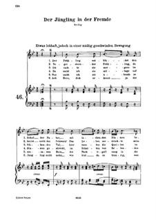 Der Jüngling in der Fremde, WoO 138: Der Jüngling in der Fremde by Ludwig van Beethoven