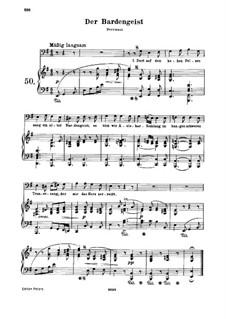 Der Bardengeist, WoO 142: Der Bardengeist by Ludwig van Beethoven