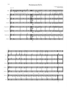 Misa Popular: Proclamacion De Fe for Intermediate Mariachi: Misa Popular: Proclamacion De Fe for Intermediate Mariachi by Rodolfo Gonzalez