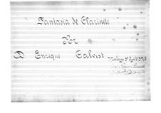 Fantasia de Clarinete: Fantasia de Clarinete by Enrique Calvist