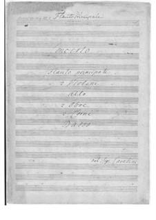 Flute Concerto No.2: Flute Concerto No.2 by Giuseppe Maria Cambini